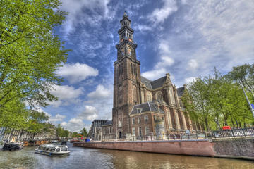 Amsterdamer-Kanalbus-Hop-on-Hop-off-Pass einschließlich Eintritt für...