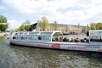 Hoppa på/hoppa av-båttur i Amsterdam med biljett till Rijksmuseum