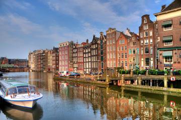 Kanalkryssning med sightseeing i Amsterdam