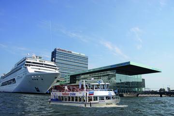 Rondvaart door haven van Amsterdam