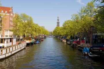 Sightseeingkryssning i Amsterdam med stadens höjdpunkter