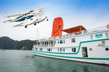 Halong Bay Flight and L'Azalee Cruise Overnight from Hanoi