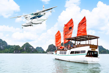 Halong Bay Flight from Hanoi and L'Azalee Private Day Cruise