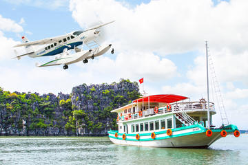 Luxury Tour: Halong Bay Seaplane and Cruise from Hanoi