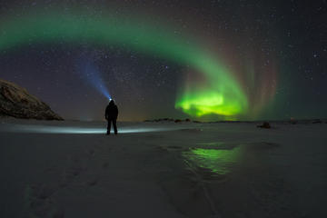 Polar Northern Light Chasing in Tromso