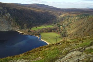 Vilda Wicklow-rundturen inklusive Glendalough från Dublin