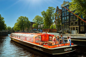 Amsterdam Canal Cruise Including Pancake and a Drink