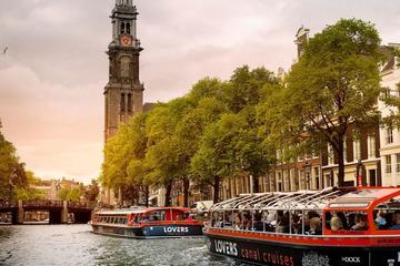 Crociera sui canali di Amsterdam a