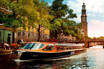 Croisière sur les canaux d'Amsterdam...