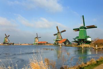 Excursão terrestre por Amsterdã: Viagem de meio dia aos moinhos de...