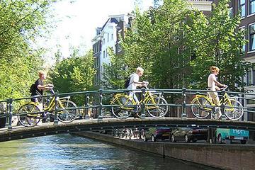 Excursión en bicicleta por Ámsterdam en un grupo pequeño