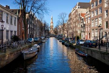 Sightseeing i Amsterdam med valgfri sejltur på kanalerne