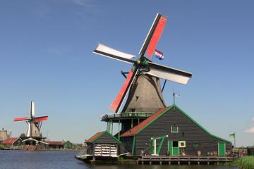 Amsterdam Volendam and Zaanse Schans Windmills