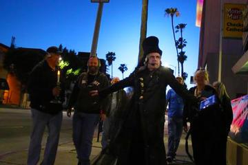 Excursão a pé pela Hollywood assombrada