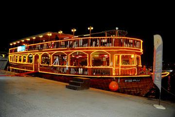 Bootsfahrt bei Mondschein mit Abendessen in Dubai