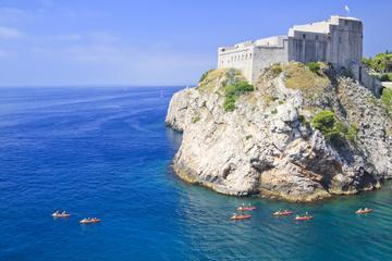Excursión para grupos pequeños en kayak y buceo en Dubrovnik