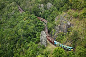 Evite as filas: Ferrovia de Kuranda Classe Gold e teleférico na...