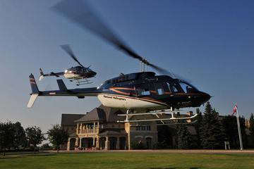 Passeio de helicóptero pelas Cataratas do Niágara e Vinícola