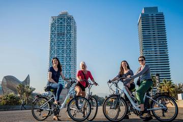 Tour fotografico in bicicletta elettrica a Barcellona