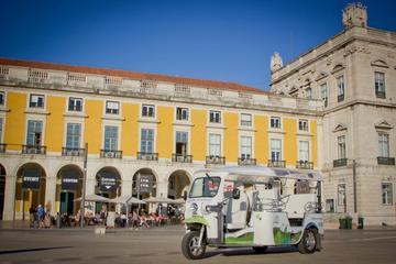 Visite de Lisbonne privée d'1heure en Tuk-Tuk