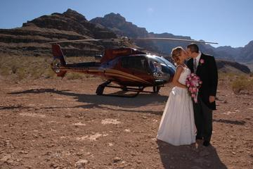 Bröllopspaket med helikopter till Grand Canyon