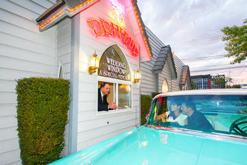 World Famous Drive-up Wedding in Las...