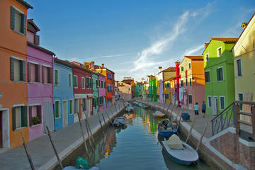 Explore the Venetian Lagoon: Murano, Burano and Torcello Islands...
