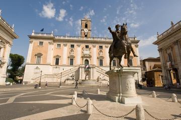 Recorrido a pie de medio día por los Museos Capitolinos, el Teatro de...