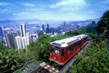 Peak Tram Sky Pass: Tram Ticket, Hong Kong Sky Tour and Sky Terrace...