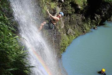 ラペル マウイ 滝と熱帯雨林の崖