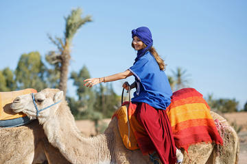Camel Ride in the Palm Groves Transfers from Your Hotel Included