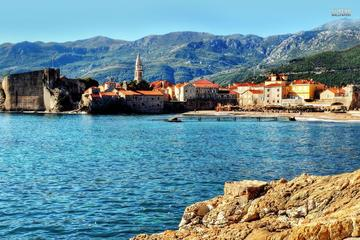 Minibus Transfer Podgorica Airport to Petrovac-Sveti Stefan-Budva for up to 15 Passengers