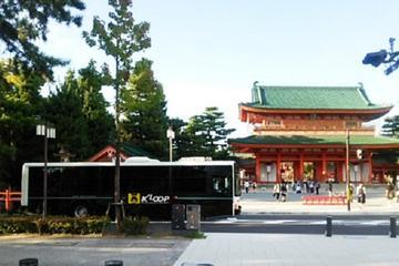 京都を観光する乗り降り自由のループバス
