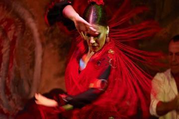 Una noche en Sevilla con espectáculo de flamenco y degustación de...