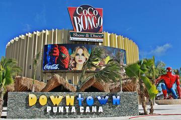 Entrada a Coco Bongo en Punta Cana