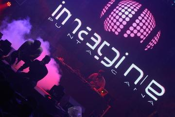 Entrada a Imagine Punta Cana Cave Disco