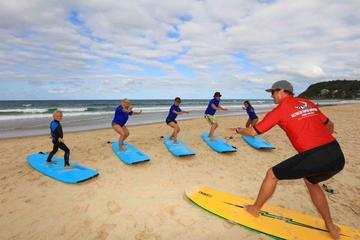 Viagem diurna para aprender a surfar em Fingal Head partindo de Gold...