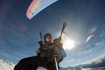 Klosters Paragliding For 2 Passengers-Together In The Air! (Pictures...