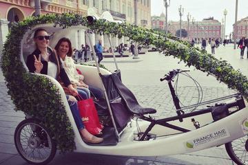 Tour della città di Nizza in risciò