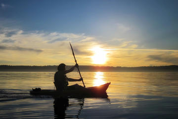 Sunset Sea-Kayaking Excursion on St. Lawrence River