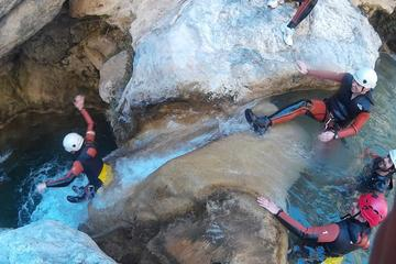 Guided Canyoning in Granada: Lentegi Canyon
