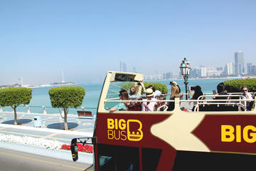 Grand circuit en bus à arrêts multiples à Abou Dhabi incluant l'île...