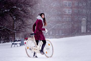 Winter Ride on Ebike in Prague