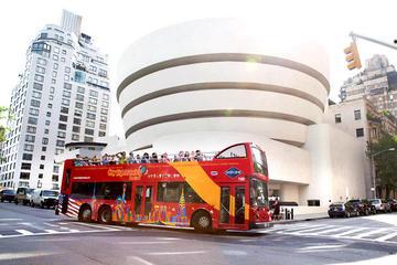 ニューヨーク市での3日間乗り降り自由のバス ツ…