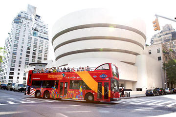 3-daagse kaart voor hop-on hop-off bustour en attracties in New York ...