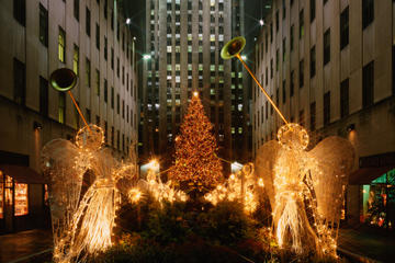 Kveldssightseeing i New York ved juletider