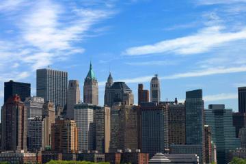 Tour panoramico guidato della città di New York in minibus