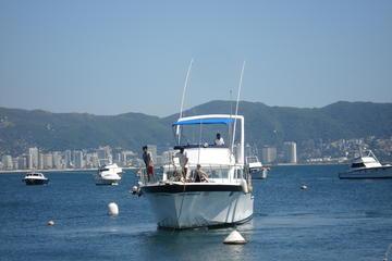 Excursão particular: passeio turístico de barco em Acapulco