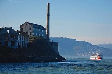 Croisière sur la baie et sous le pont du Golden Gate