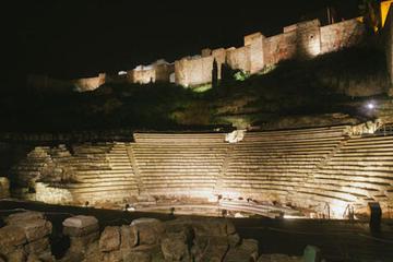 Málaga-Tour bei Nacht